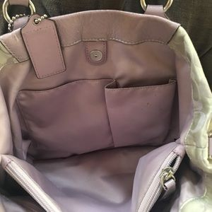 Coach Bags - Handbag with matching wallet